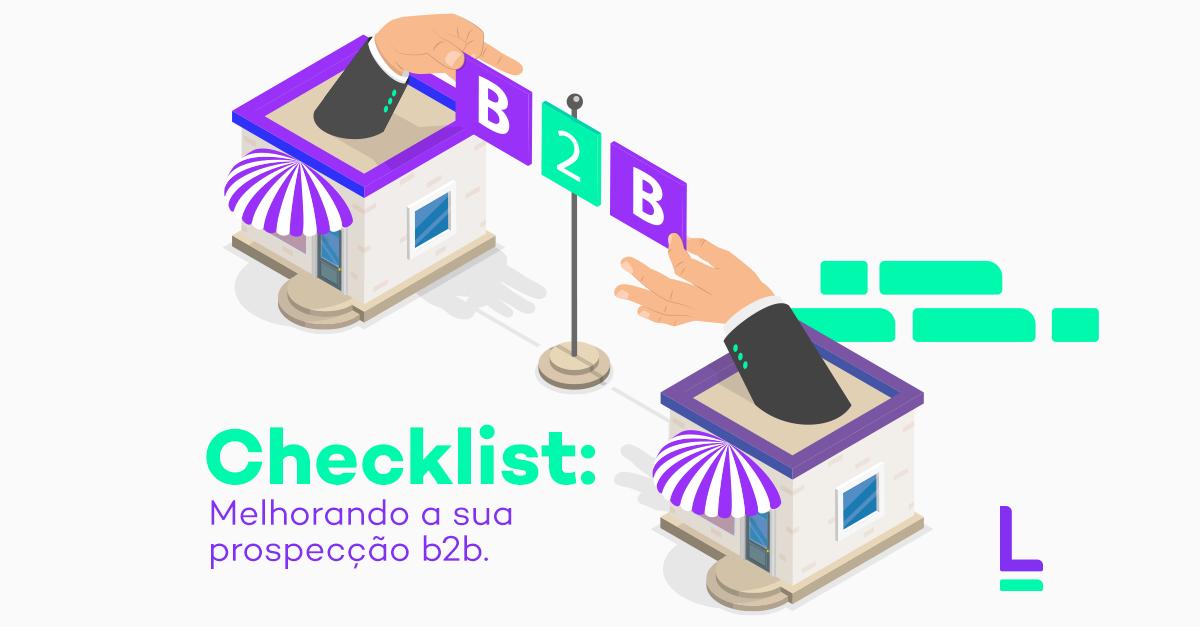 Checklist prospecção de leads B2B